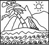 Meditation Coloring Island Paradise Adult Pages Therapy Counseling Creative Child Stress Adults Children Beyond Learn Reduction Creativecounseling101 sketch template
