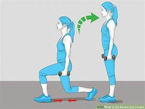8 Easy Ways To Do Squats And Lunges  With Pictures