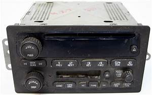 2005 2006 Chevy Tahoe Factory Stereo Tape Cd Player Oem Radio