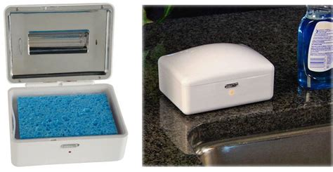 Disinfect your kitchen sponge with UV light – The Gadgeteer