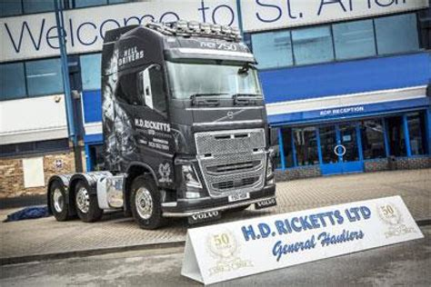 latest volvo commercial hd ricketts celebrates 50 years with new volvo fh16