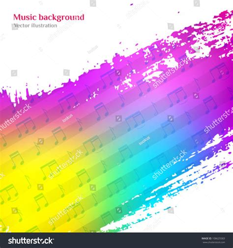 background colorful vector illustration cd stock
