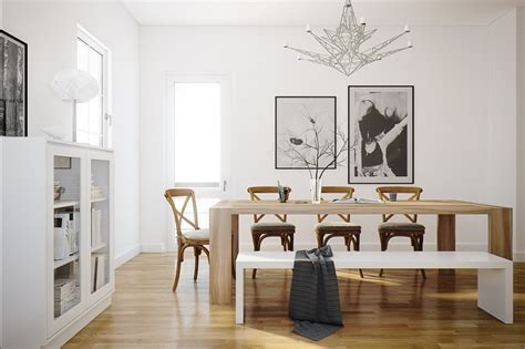 decoracion interiores  ideas de comedores modernos