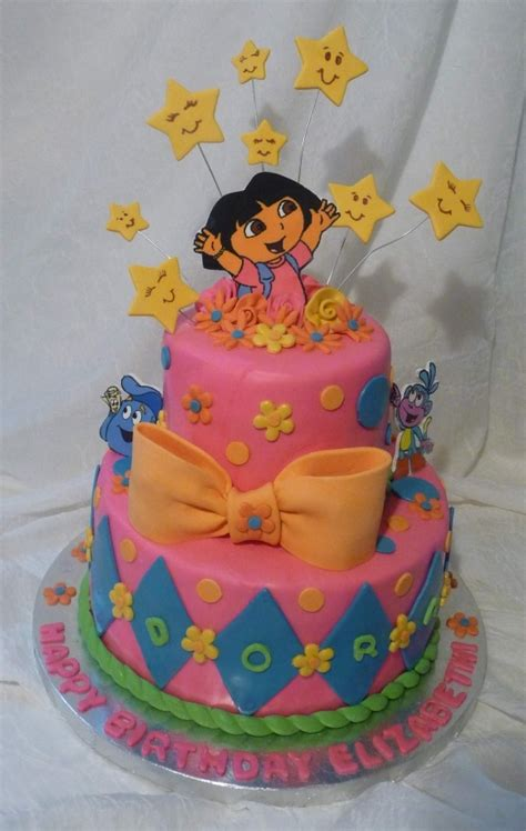 ideas  dora birthday cake  pinterest