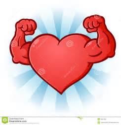 Cartoon Character Heart Muscles