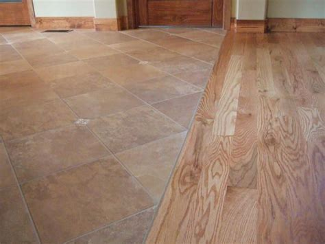 Flush Wood To Tile Transition  Living Room Project