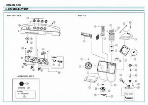 Daewoo Dwm 7510 Washing Machine Schematic Diagram