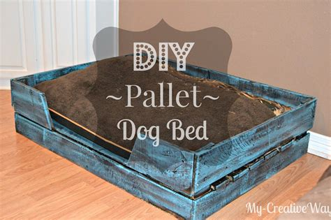 DIY Pallet Dog Bed for FREE | DIY pallet crafts ...