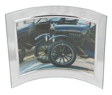 Party plus picture frames glass picture frame curved