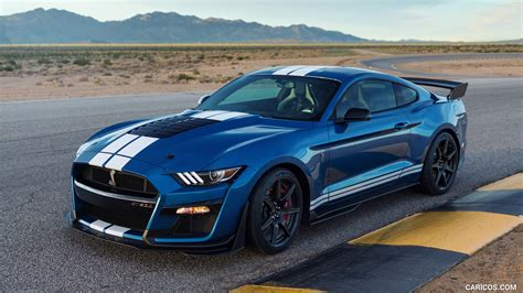 Wallpaper 2020 Ford Mustang Shelby Gt500 by 2020 Ford Mustang Shelby Gt500 Front Three Quarter Hd