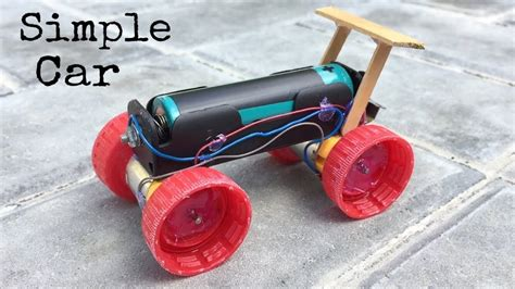 Make Electric Car by How To Make A Mini Electric Powered Car Simple To