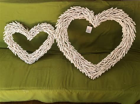 Handmade from driftwood, it fills your space with maximum durability and style. White heart Driftwood Wall Art 75*65*9 cm | eBay