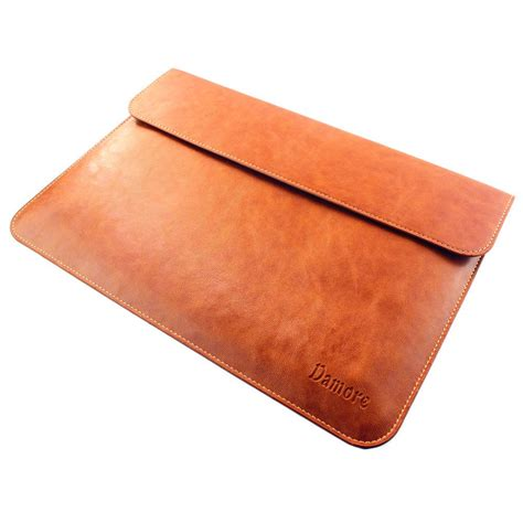 leather laptop sleeve by benever macbook air 13 macbook pro 13 retina leather sleeve