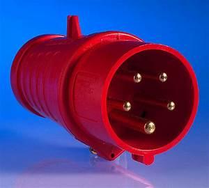 415v 16 Amp 5 Pin Plug
