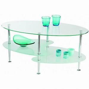 Dessus De Table En Verre : table basse moderne dessus verre panel meuble magasin de meubles en ligne ~ Teatrodelosmanantiales.com Idées de Décoration