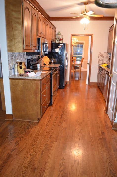 how to update a galley kitchen small galley kitchen update 8936