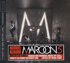 Maroon 5 It Won't Be Soon Before Long French Cd Album ...