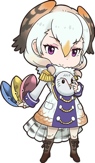 barn owl japari library  kemono friends wiki