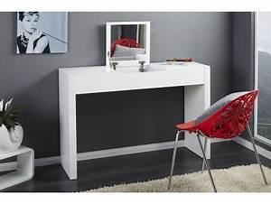 Coiffeuse Meuble Noir : coiffeuse noir laque maison design ~ Farleysfitness.com Idées de Décoration