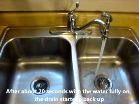 kitchen sink won t drain not clogged kitchen sink wont drain flatblack co