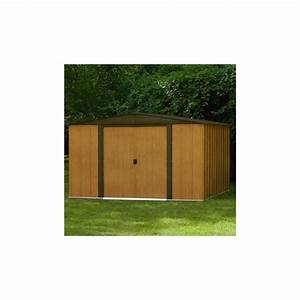 Abri De Jardin Arrow : abri en acier galvanis 11 6m imitation bois arrow ~ Dailycaller-alerts.com Idées de Décoration