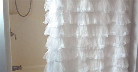 Sheer Lace Priscilla Ruffle Shower Curtain,old-fashioned, Pink ... Dunelm Curtains Grey Theatre Room Blackout Bamboo Door Uk Tab Top Curtain Panel Pair Diy Rope Tie Backs Crystal Beaded Shorten Without Sewing Making Simple Lined
