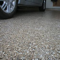 Stonetech uses 100 percent solids Epoxy Floor system