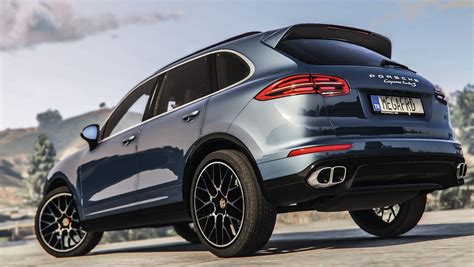 2018 Porsche Cayenne Turbo S Add On Replace Gta5