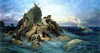 Paul Mcintyre Artwork by The Sea God In Mythology