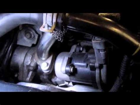 land rover tdv egr valve replacement youtube