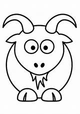 Goat Coloring Cute Pages Books Sheet Horn Printable Forkids Tincture Beard Ask Parentune Couple Cartoon He sketch template