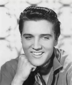 Elvis Presley Smiling