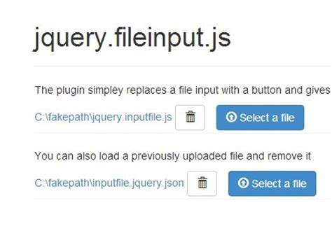 jquery form file upload exle styling your file input with jquery inputfile plugin and