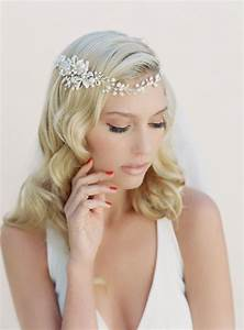 Bridal Hair Wreath Crystal And Pearl Hair Garland