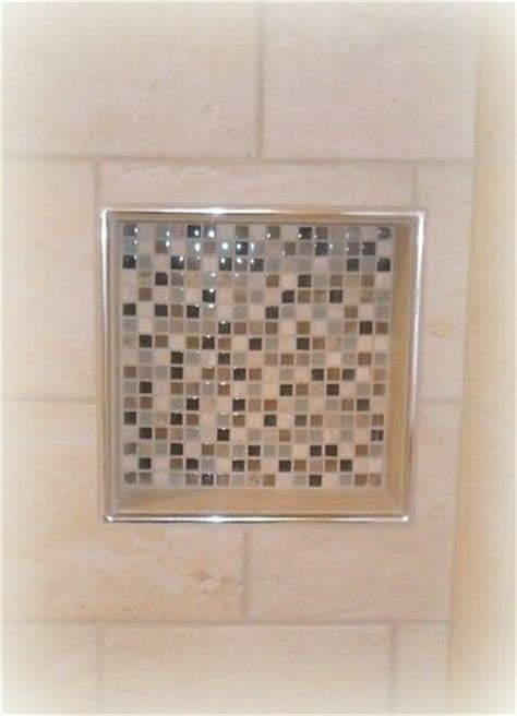 Cutting Schluter Tile Edging by Tiled Shower Niche With Schluter Trim Tile Projects