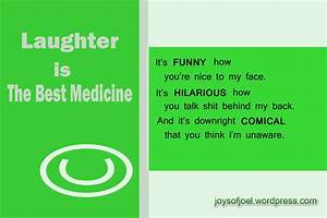 LAUGHTER IS THE BEST MEDICINE Quotes Like Success