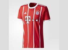 Les maillots du Bayern Munich pour la saison 20172018