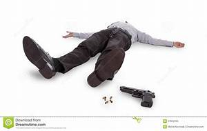 Businessman Lying Dead In The Floor Stock Images - Image ...