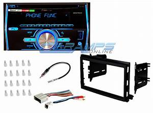 Pioneer Double 2 Din Car Stereo With Complete Installation Dash Kit  U0026 Wiring