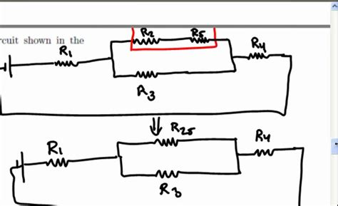 Equivalent Resistance Complex Resistor Circuit Youtube