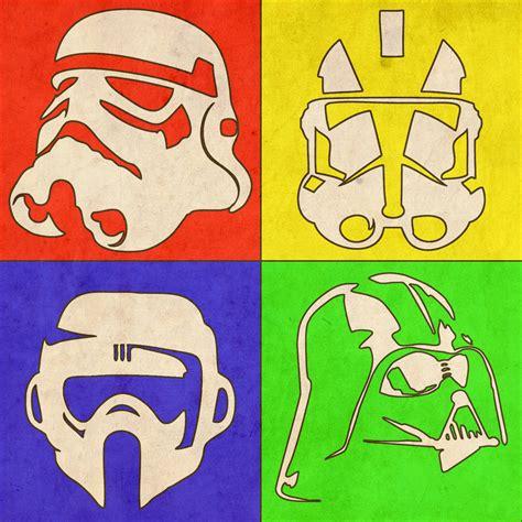 Svalts Star Wars Pop Art Posters // by Ondrej Uzdil Also