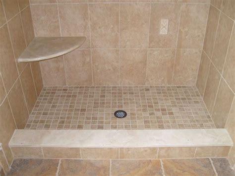 tiled shower threshold tile shower pinterest tile