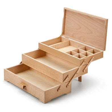 Lade In Legno by N 228 Hkasten 3 Laden Wooden Boxes Sewing Box