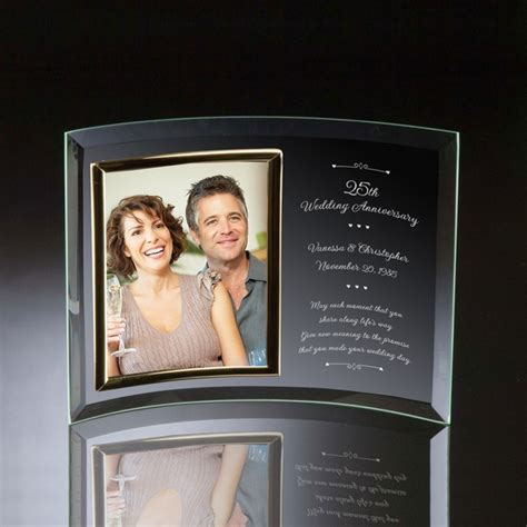 wedding anniversary curved glass vertical  photo