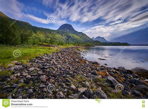 Norway Beautiful Landscape Of Norway Scandinavia Stock