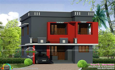 A Colorful Modern Home Designed With Usability In Mind by Color Painted Modern Home Kerala Home Design And