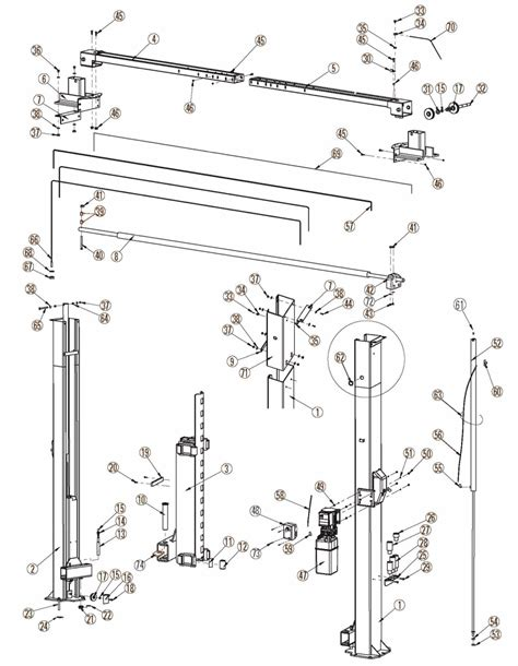 2 rotary lift parts wiring diagram rotary revolution rtp10 parts diagram fast equipment