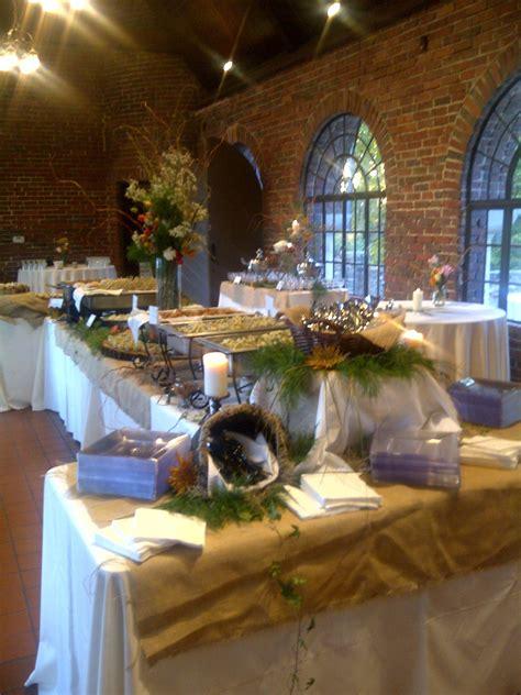 buffet setup  wedding buffet setup  avondale