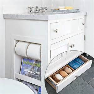 Updating Old Kitchen Cabinets by Clever Toekick Drawer A Luxe Light Filled Bath And