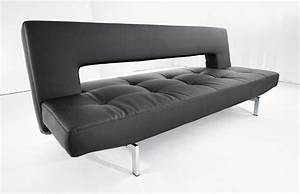 innovations sofa beds wing deluxe sofa bed black leather With innovation usa sofa bed